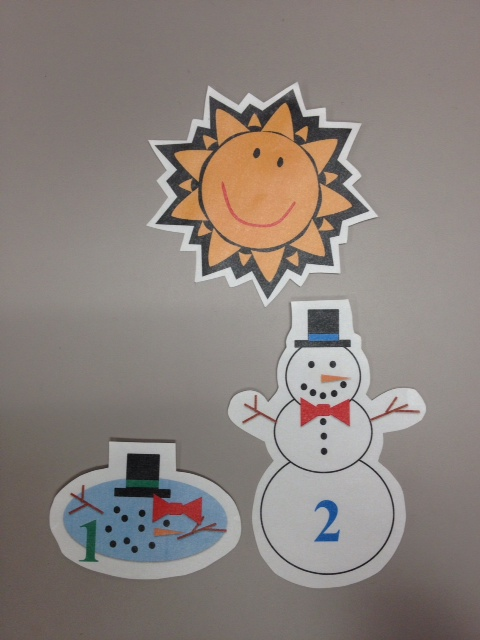Flannel Friday: 5 Little Snowmen | Miss Mary Liberry